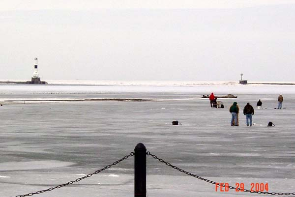 Welcome to conneaut history for Lake erie ice fishing
